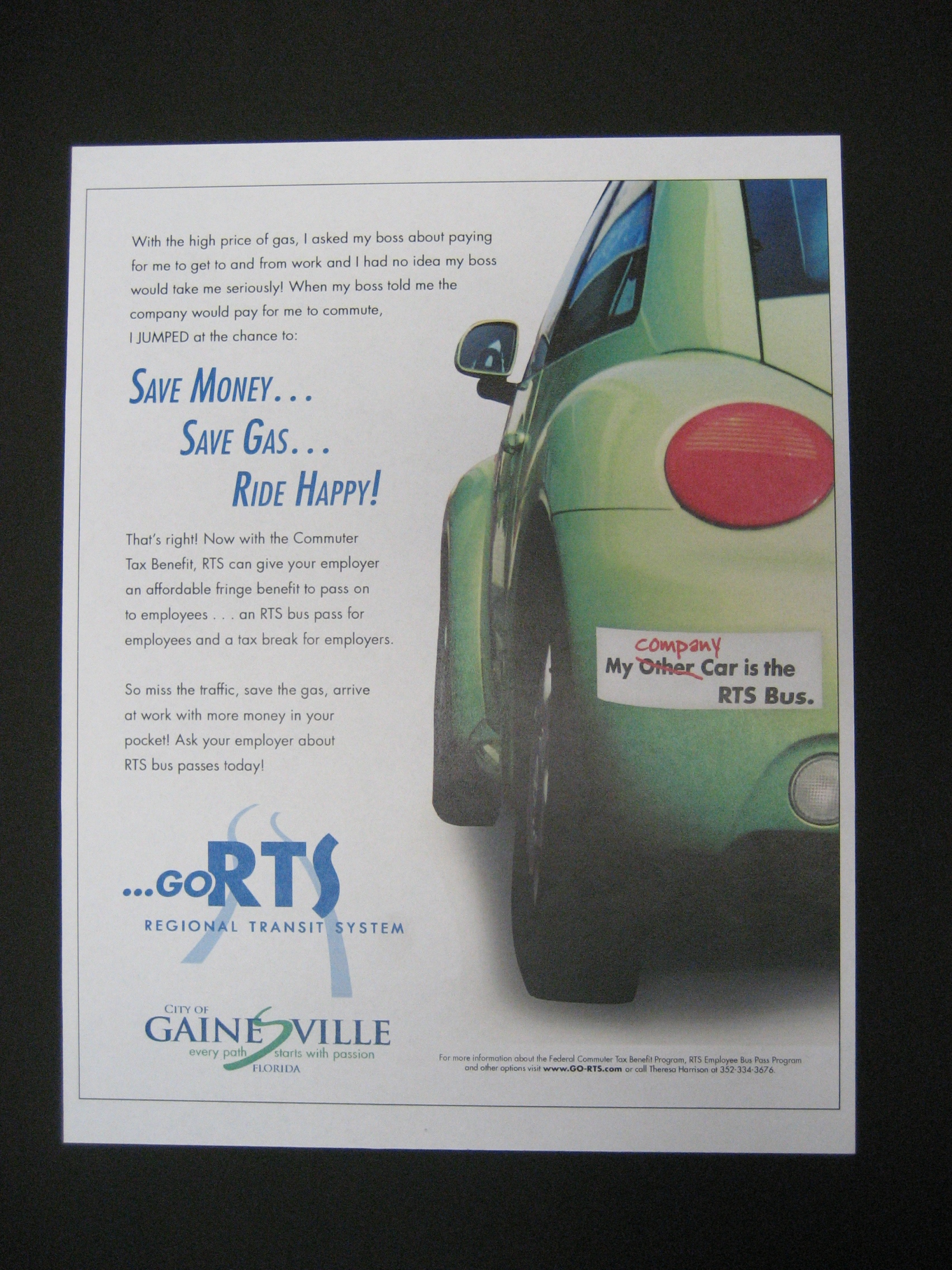 2009 - RTS Gainesville