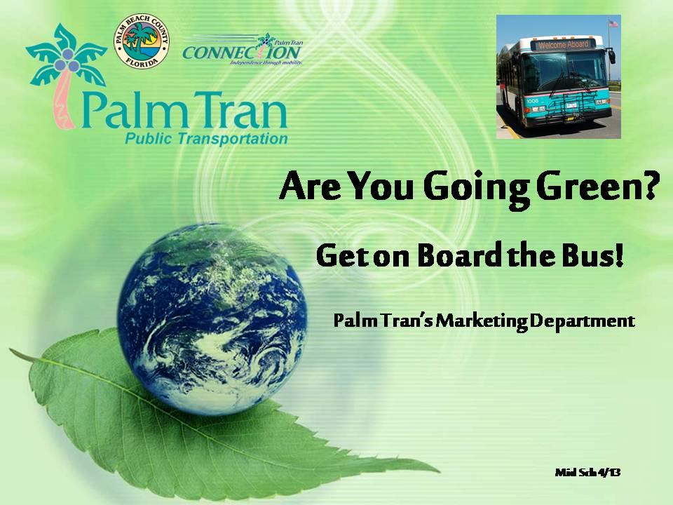 2013 - Palm Tran